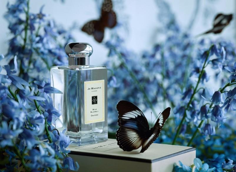 Martyn's butterfly filled image for Jo Malone London.