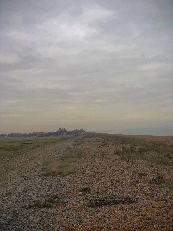 Walking the Beach, Deal, Kent.
