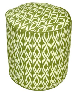 Outdoor+Round+Pouf+Green+Ikat+.png