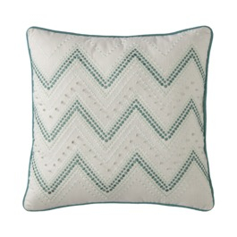++Threshold%C2%99+White+and+Turquoise+Knot+Chevron+Pillow+.jpg