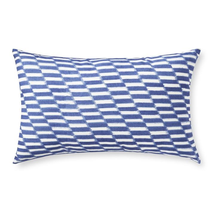 AERIN Outdoor Printed Hampton Ikat Lumbar Pillow.jpg