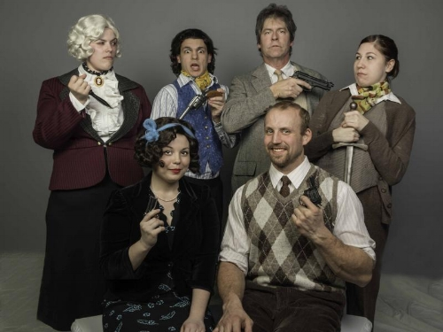 Back Row, left to right: Bri Keran, myself, Bob Spears, Nitasha Sanders. / Front Row: Nicole Rotheleutner, Jesse Brutscher.