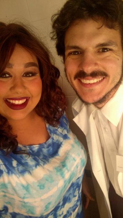 Mackenzie Renford and myself on opening night