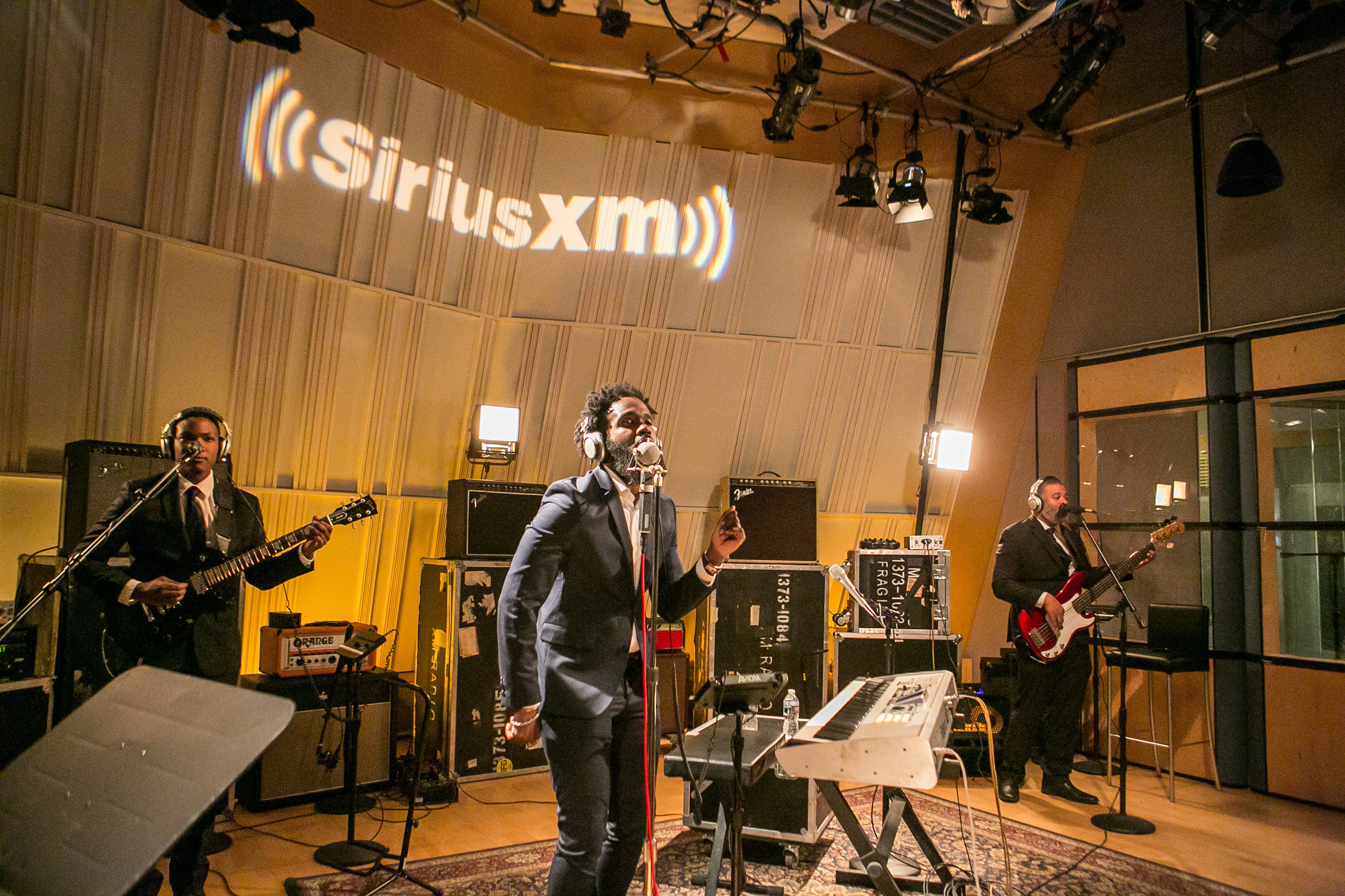 Washington DC | Sirius Satellite Radio studio recording | Nov. 2017