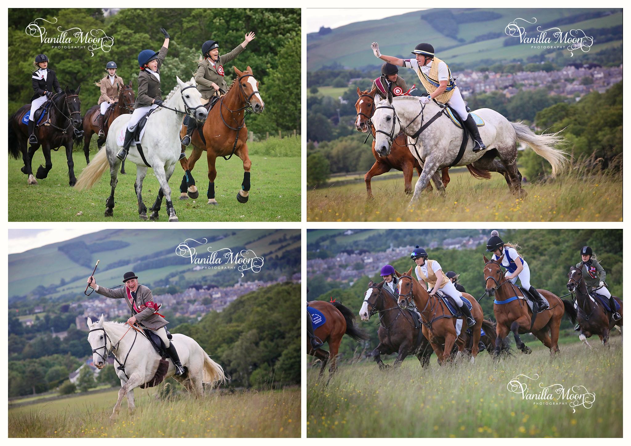 Peebles Beltane Festival ride out Scottish Borders