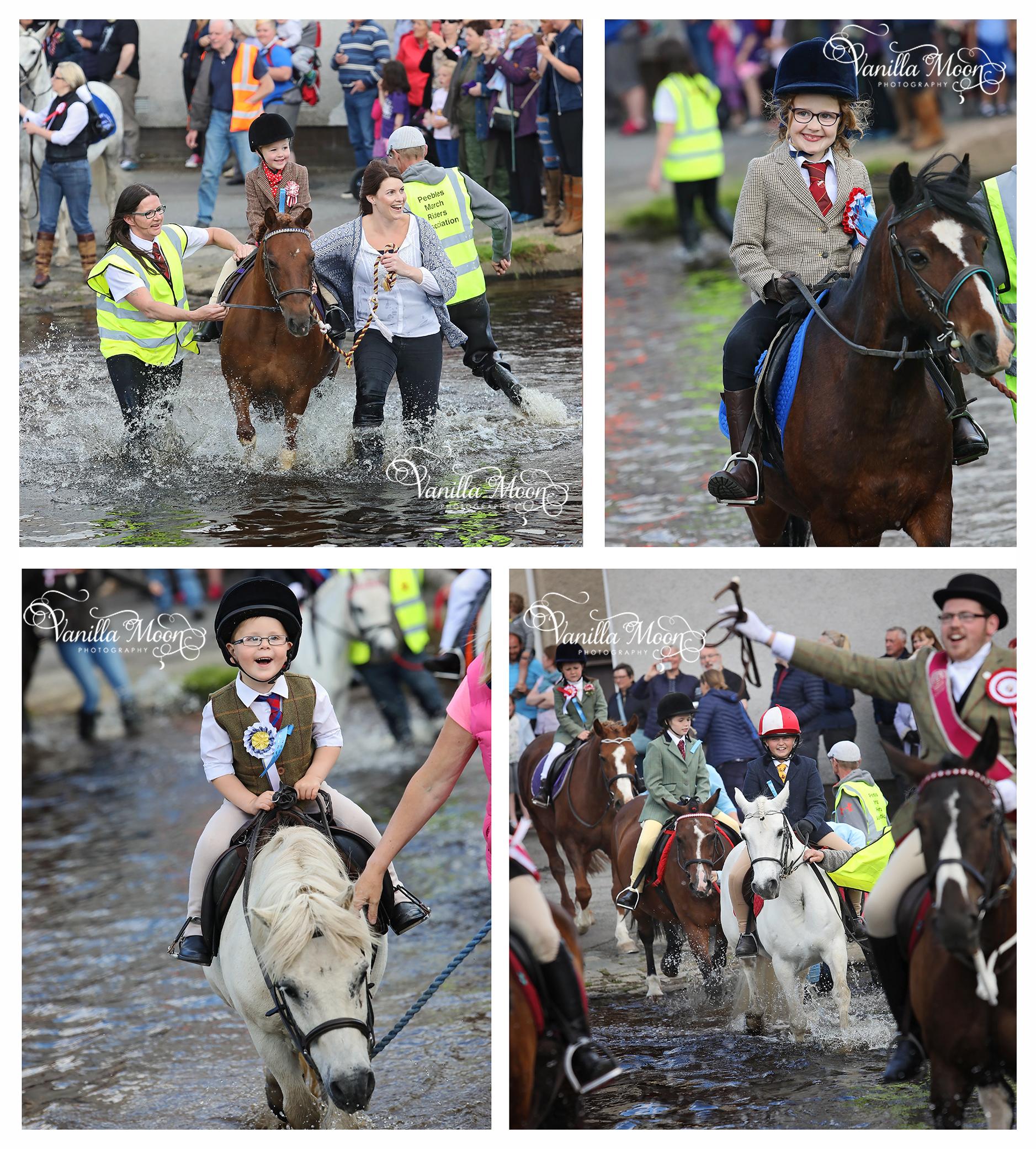Peebles Beltane Children's Ride Out Scotland Photography