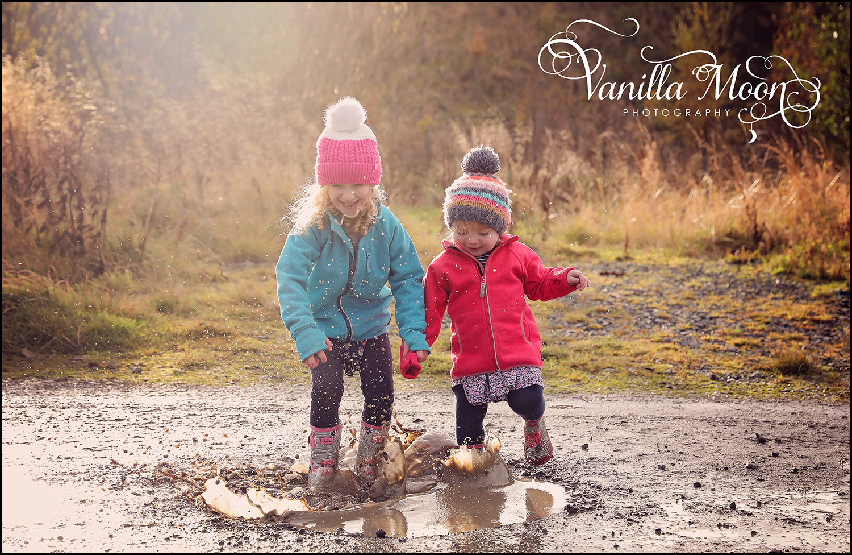 * Come rain or shine, there's always fun to be had!