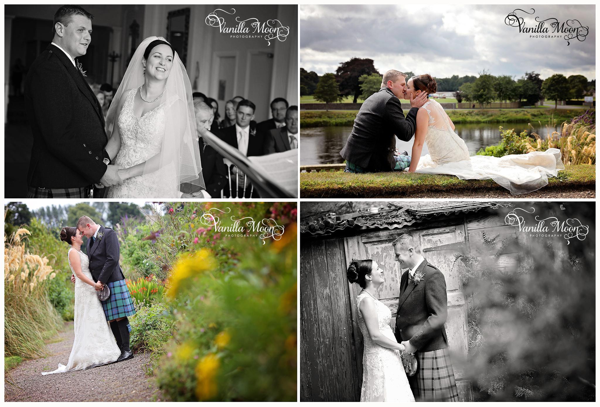 Ednam House Hotel Wedding Photography Scottish Borders