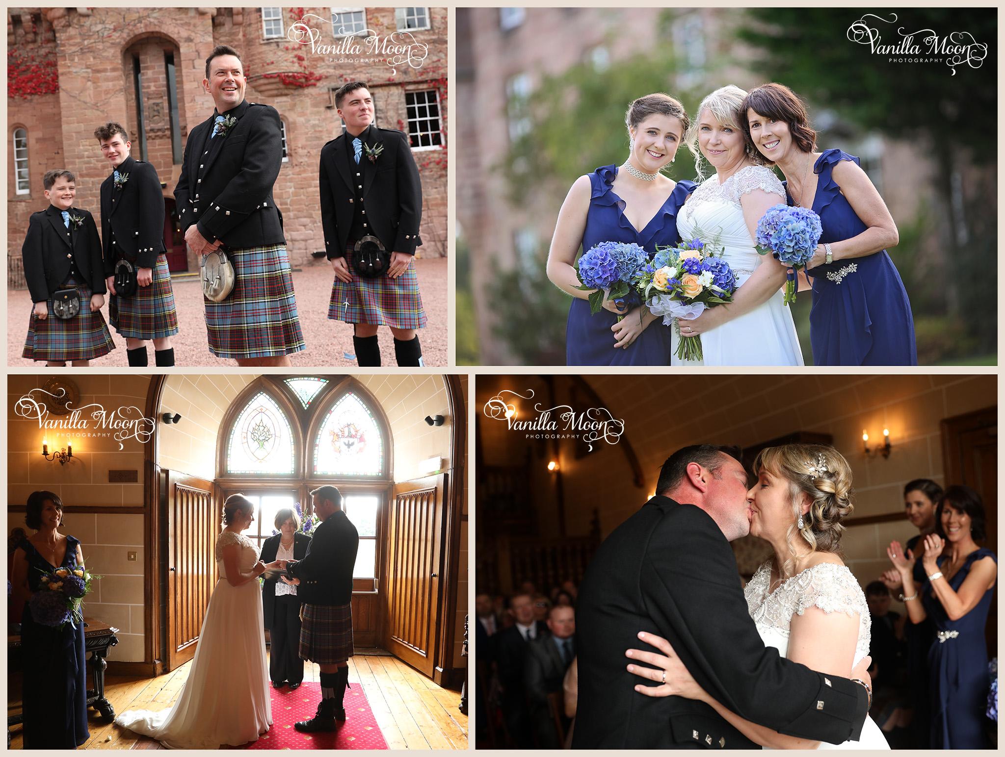 Wedding Photography Scotland, Dalhousie Castle midlothian