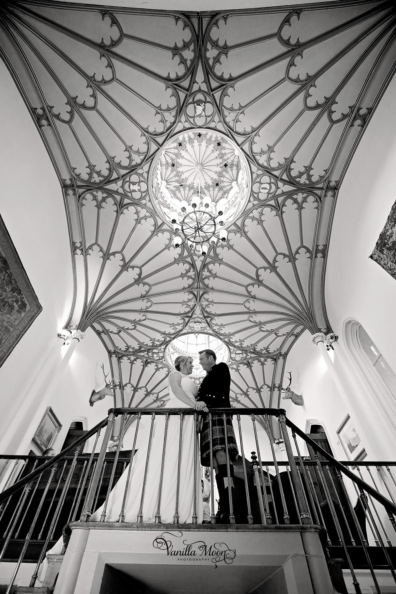 Dalhousie Midlothian Scotland wedding photography