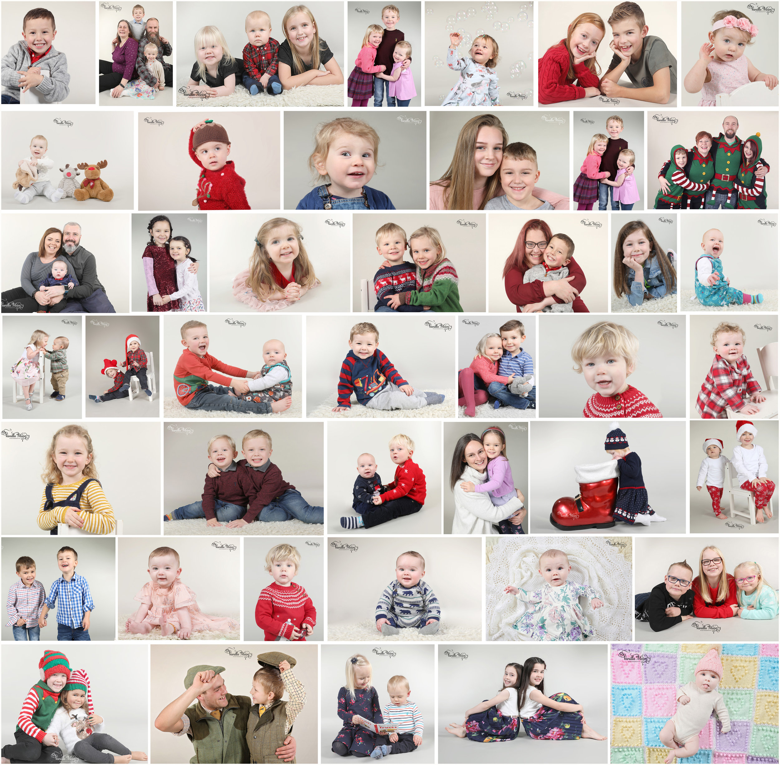 Christmas Portrait Photography Scottish Borders, Scotland