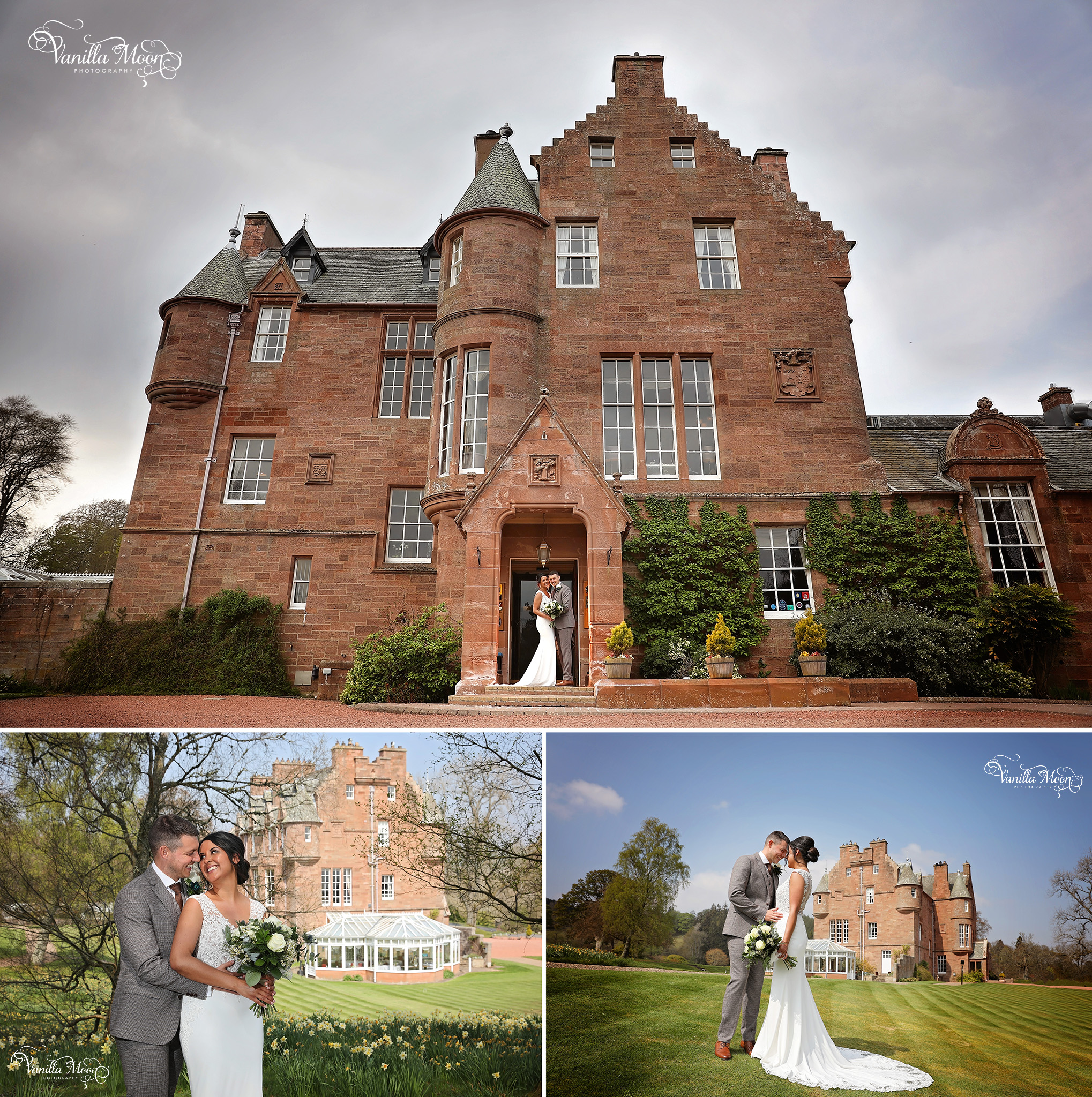 Natural and intimate wedding photography scotland