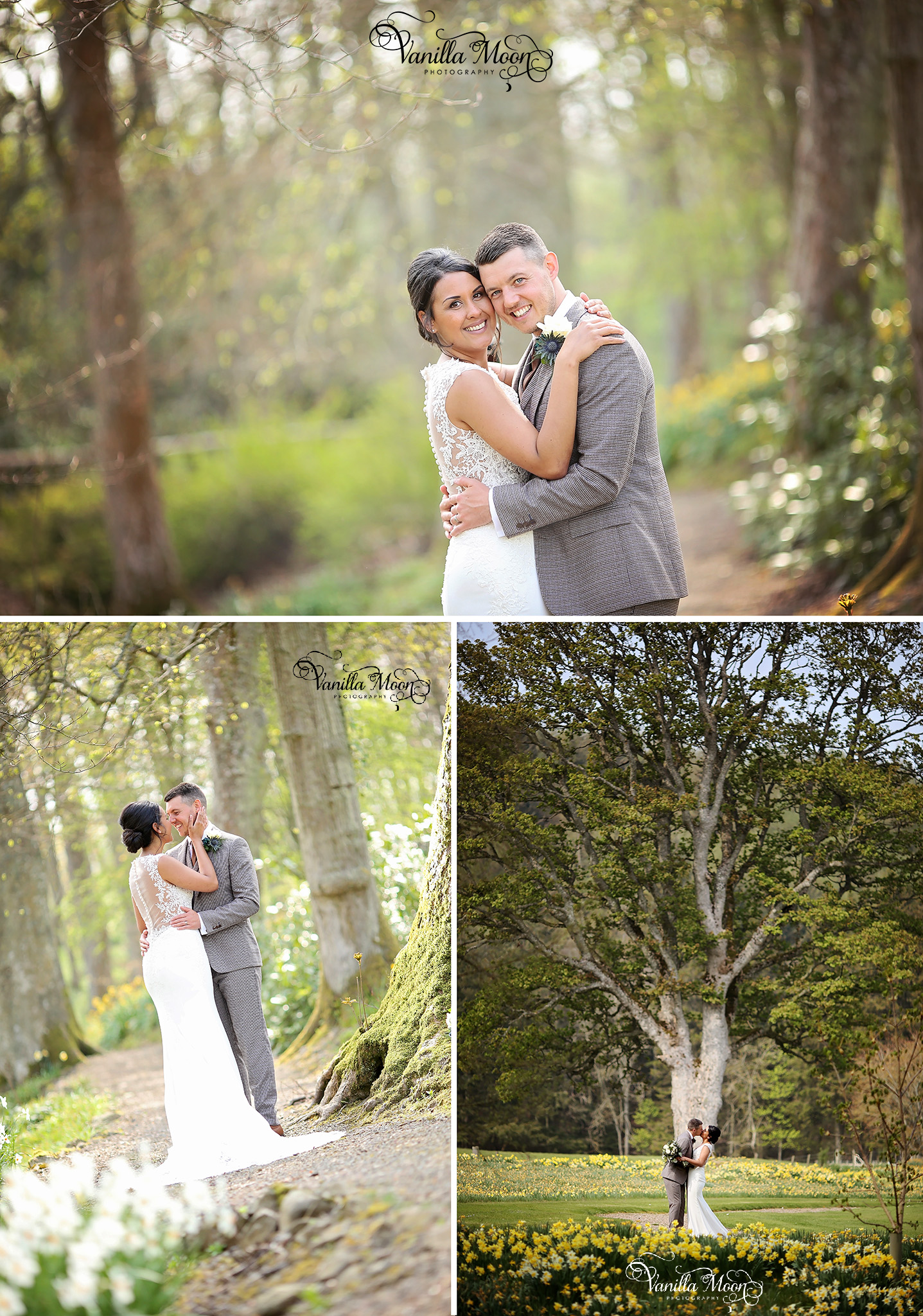 Natural wedding photography in Scotland