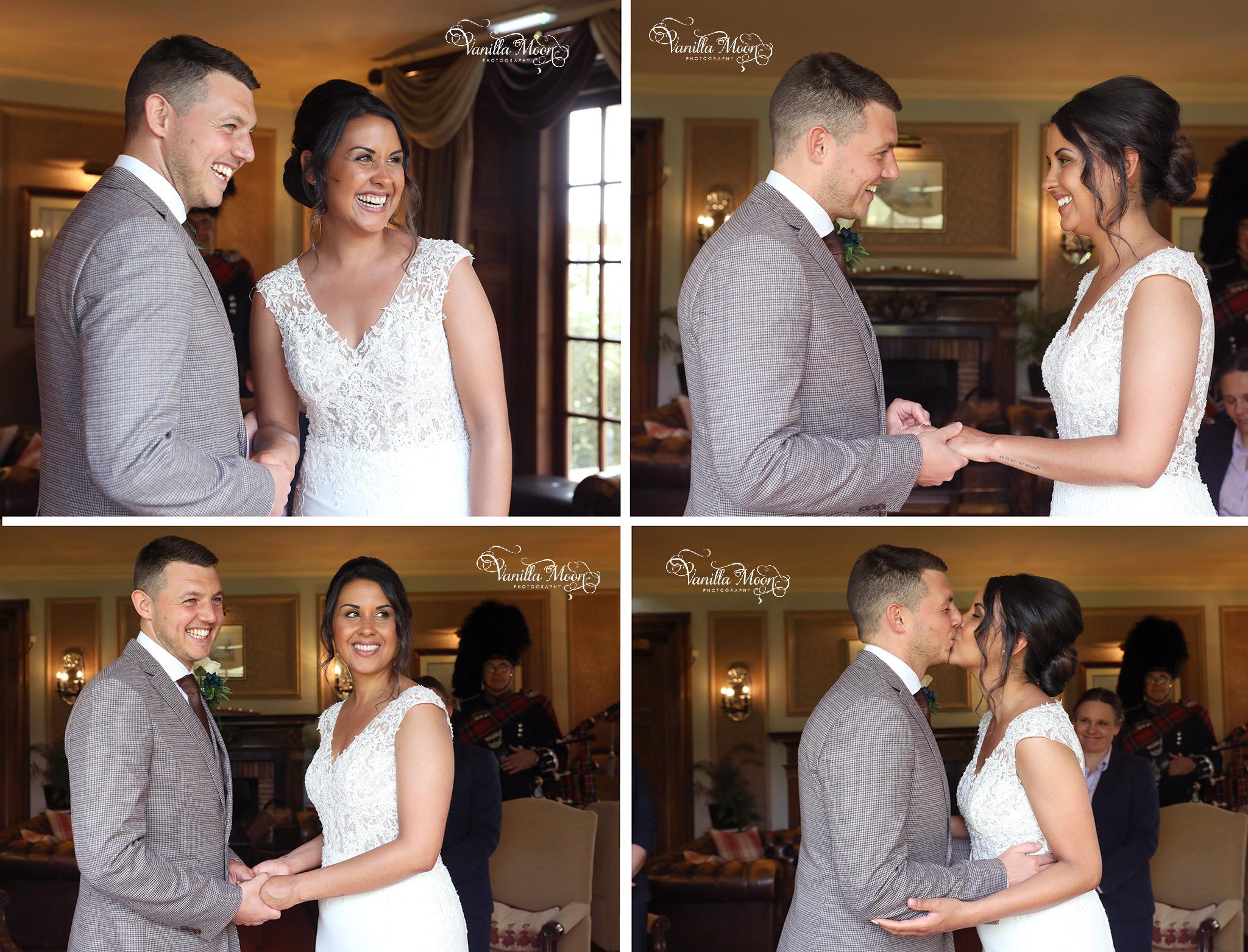 Outdoor Intimate Wedding Photography Scottish Borders