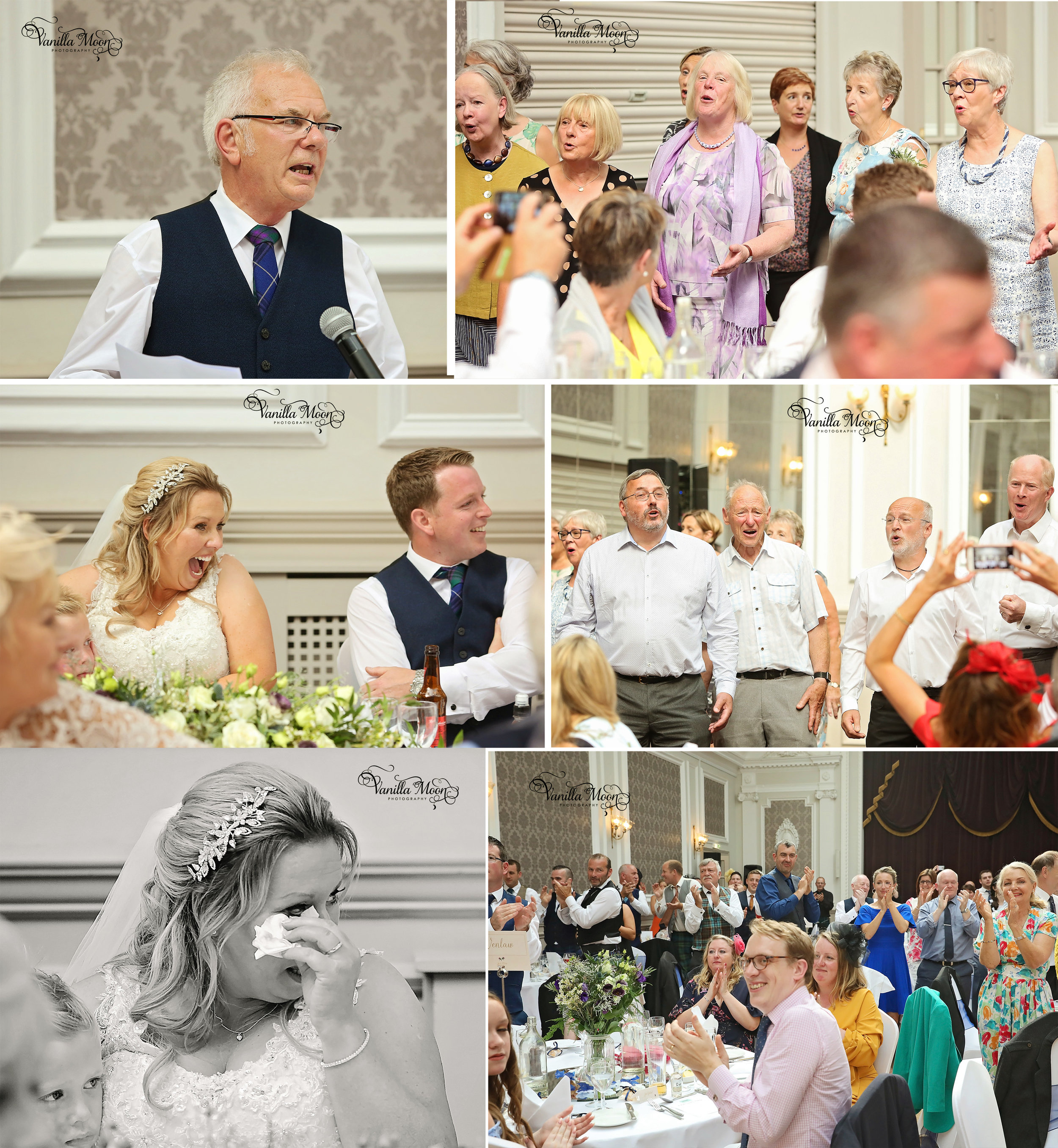 Wedding Speeches Natural Light Wedding Photography Peebles, Scottish Borders, Scotland