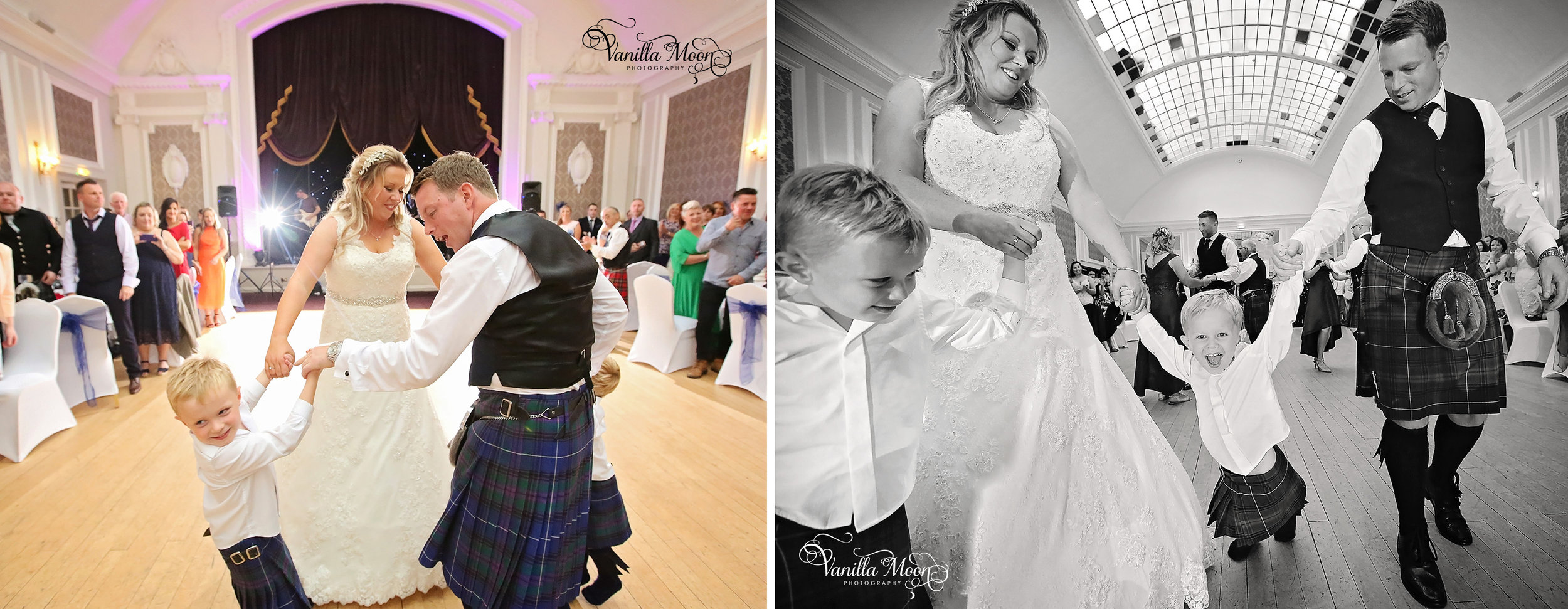 First Dance Wedding Photography Peebles, Scottish Borders, Scotland
