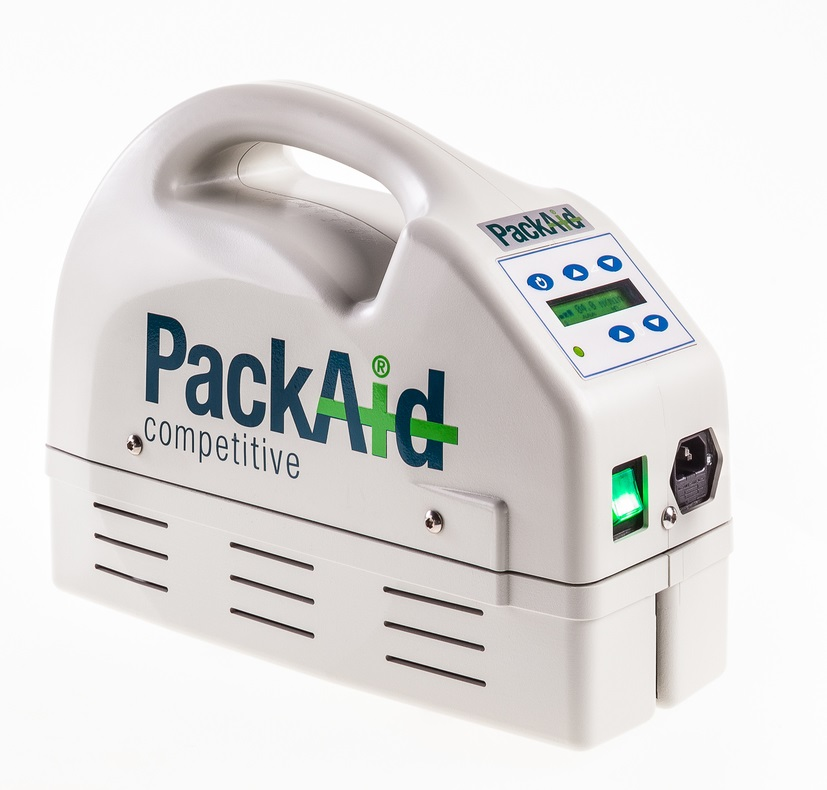Product Photography hand sealing machines for PackAid B.V. Zwolle