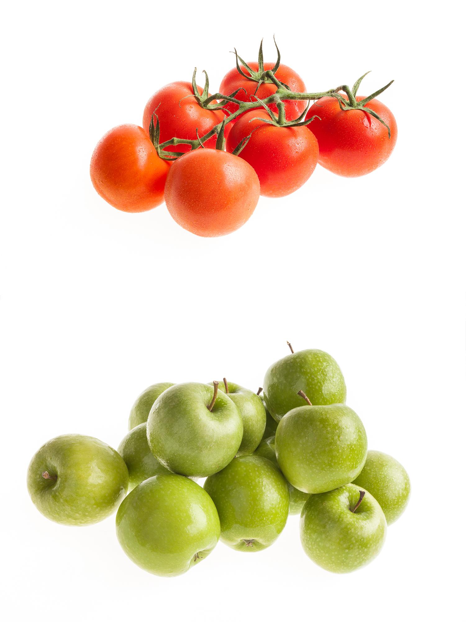 Tomaten en Appels