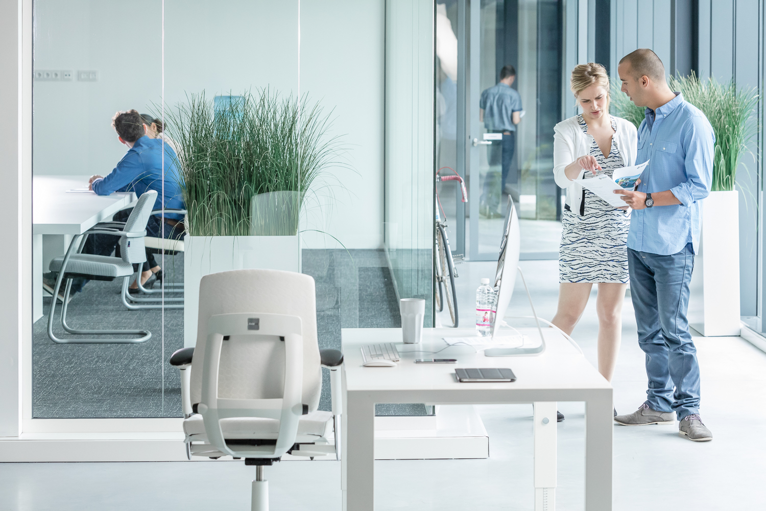 Office lifestyle photography for Scandinavian Business Seating