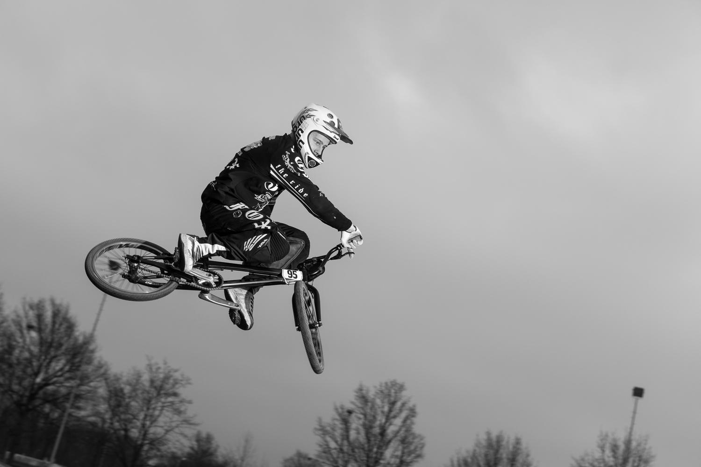 Nederlands kampioen BMX Mitchel Schotman