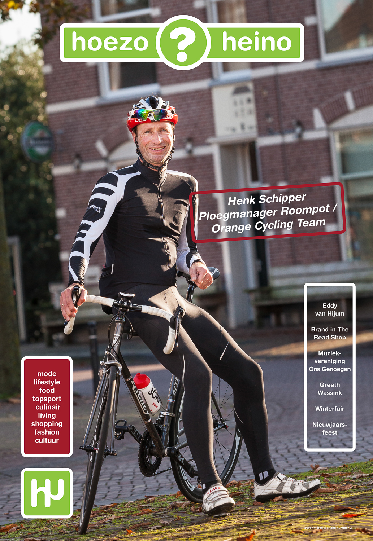 De trendy krant  HoezoHeino ? uitgegeven door N35 Media uit Heino. Een uitstekende samenwerking met tekstschrijvers Rudi Buitenkamp en Karin de Graaf en de vormgevers van N35 Media.