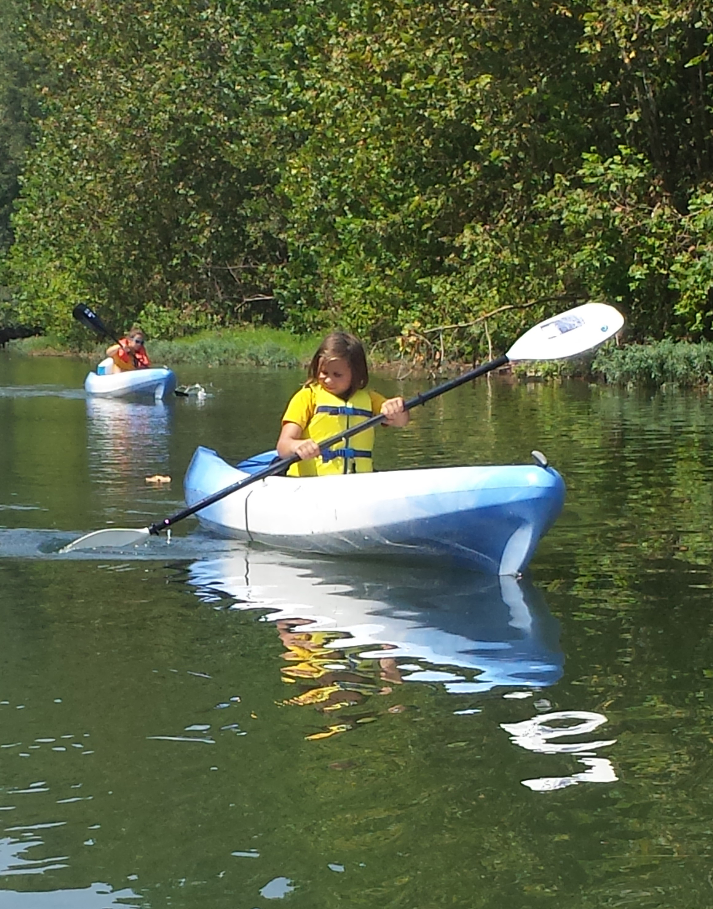 Kayak - $22 per person  5 and under are free with paying adult