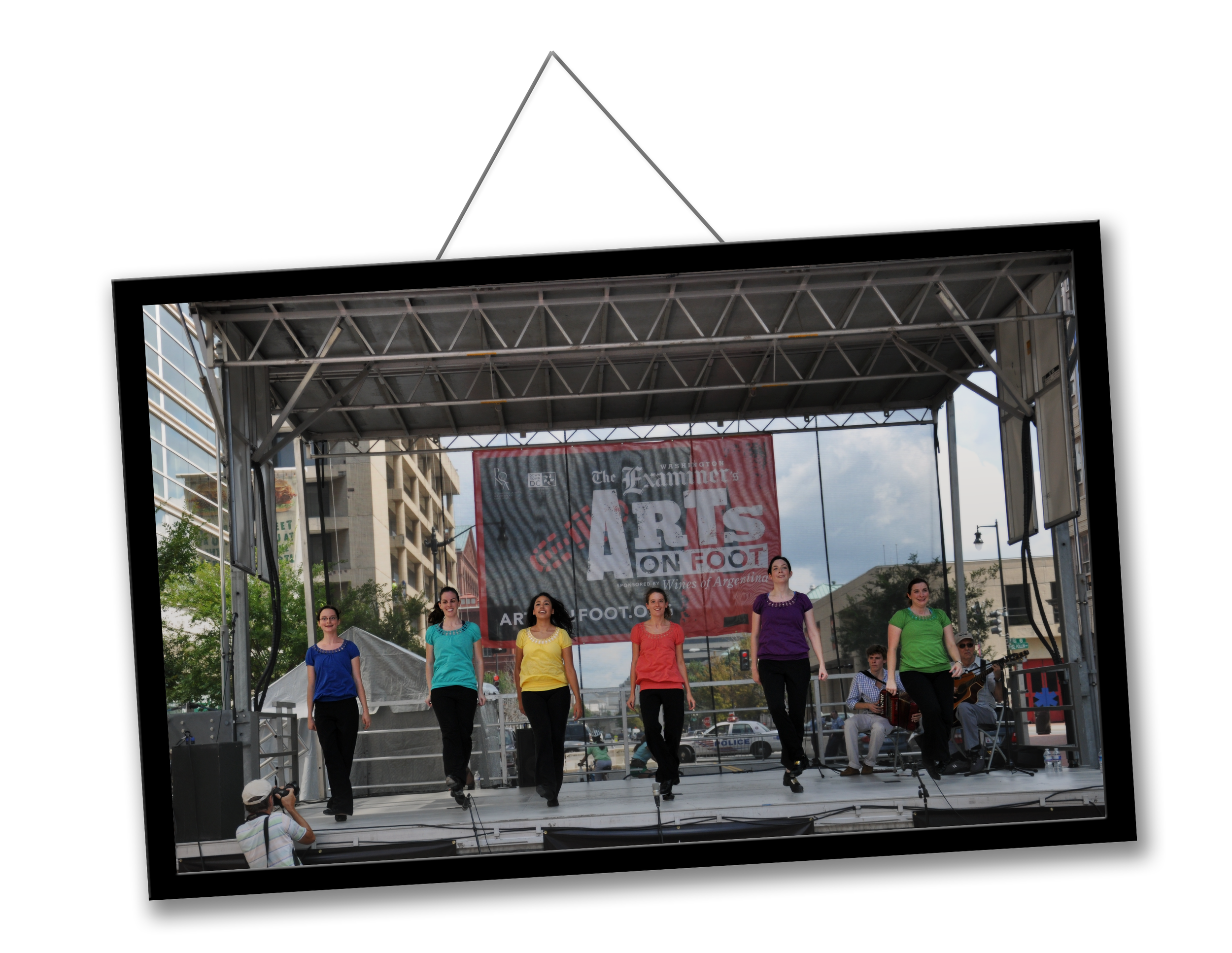 The New Century Performance Ensemble at The Washington Examiner's Arts on Foot (2011).  Photo Keith Rossmiller.