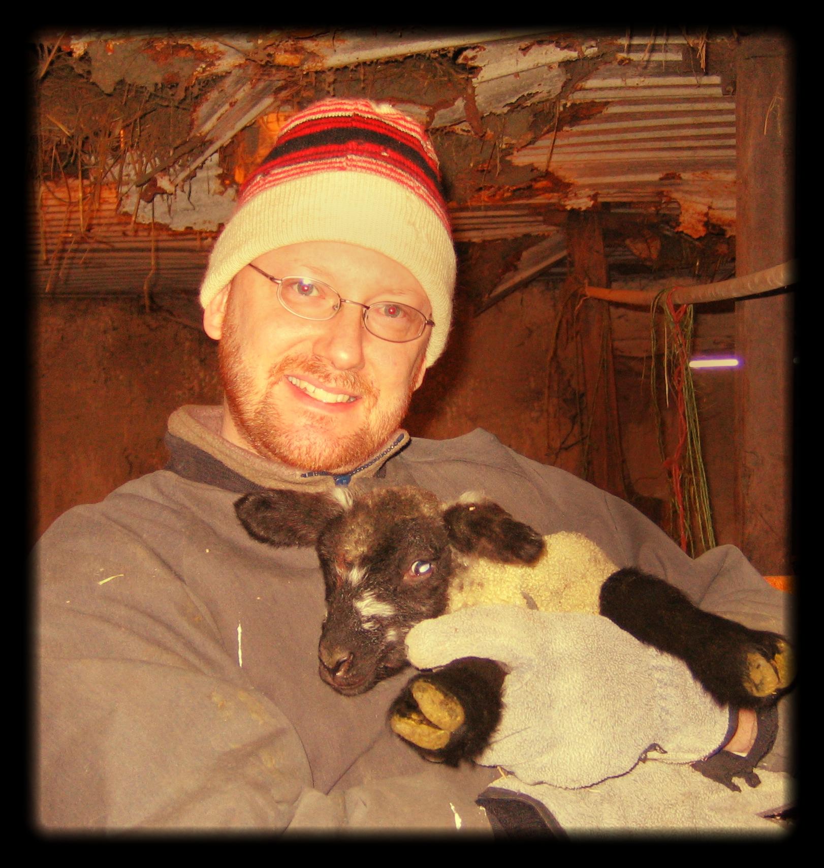 Gregg with Easter Lamb.jpg