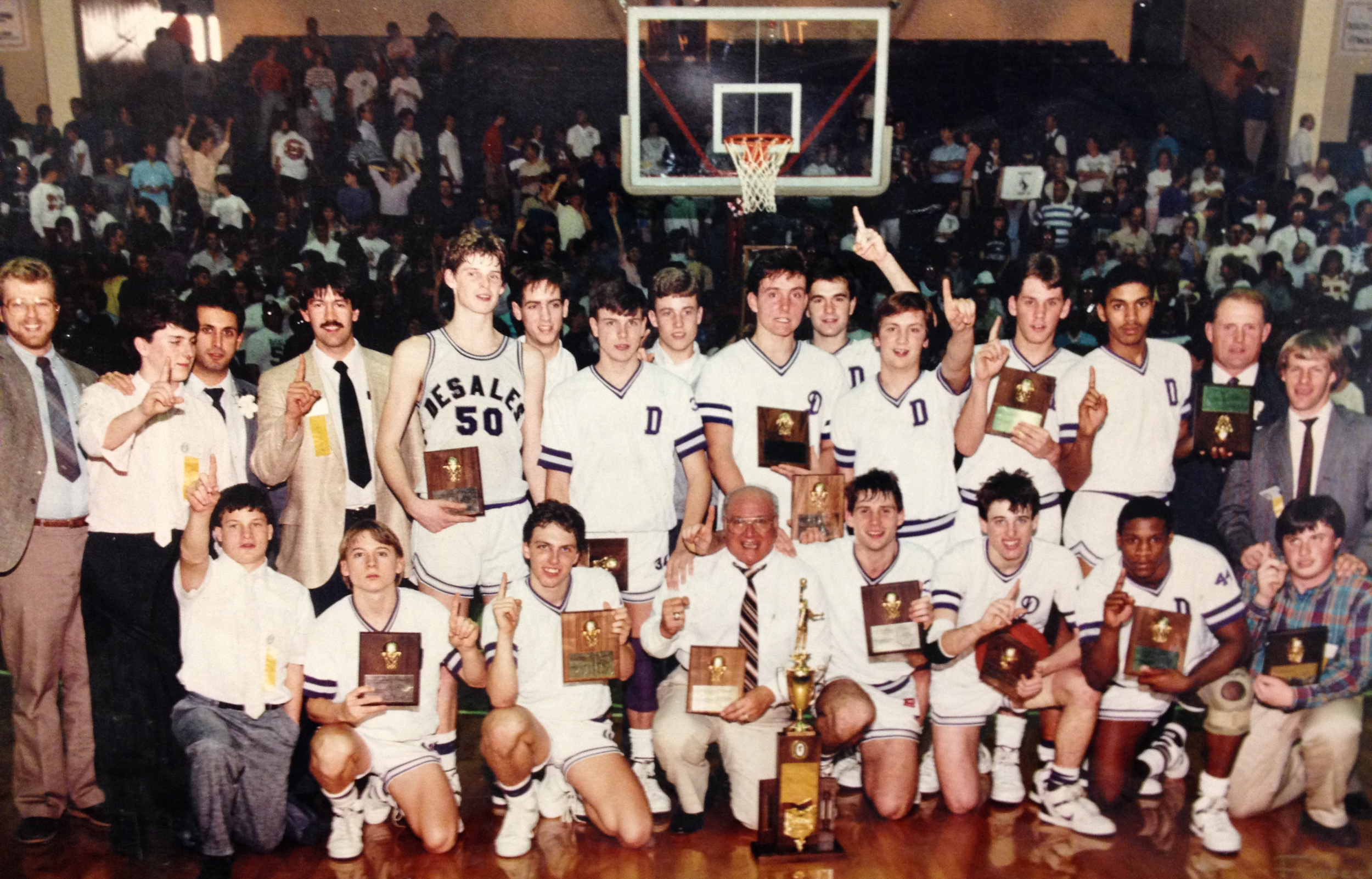 1987 STATE CHAMPIONS  Boys Basketball