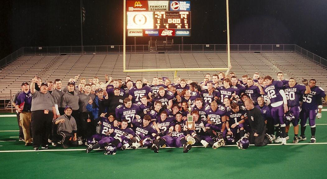 1998 STATE CHAMPIONS  Football