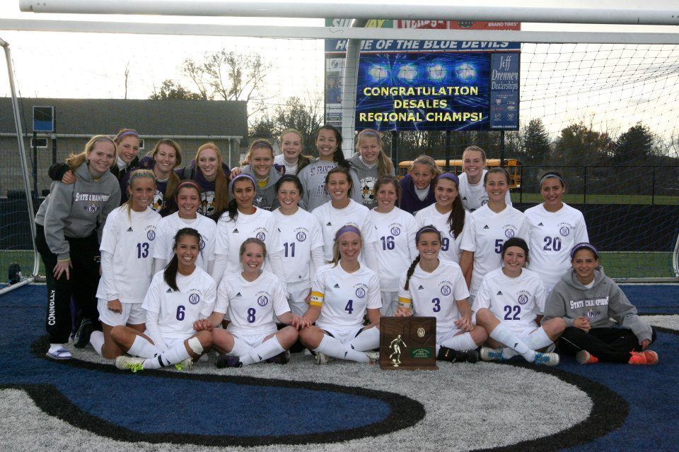 2012 Girls Soccer  (photo credit - Barb Dougherty)