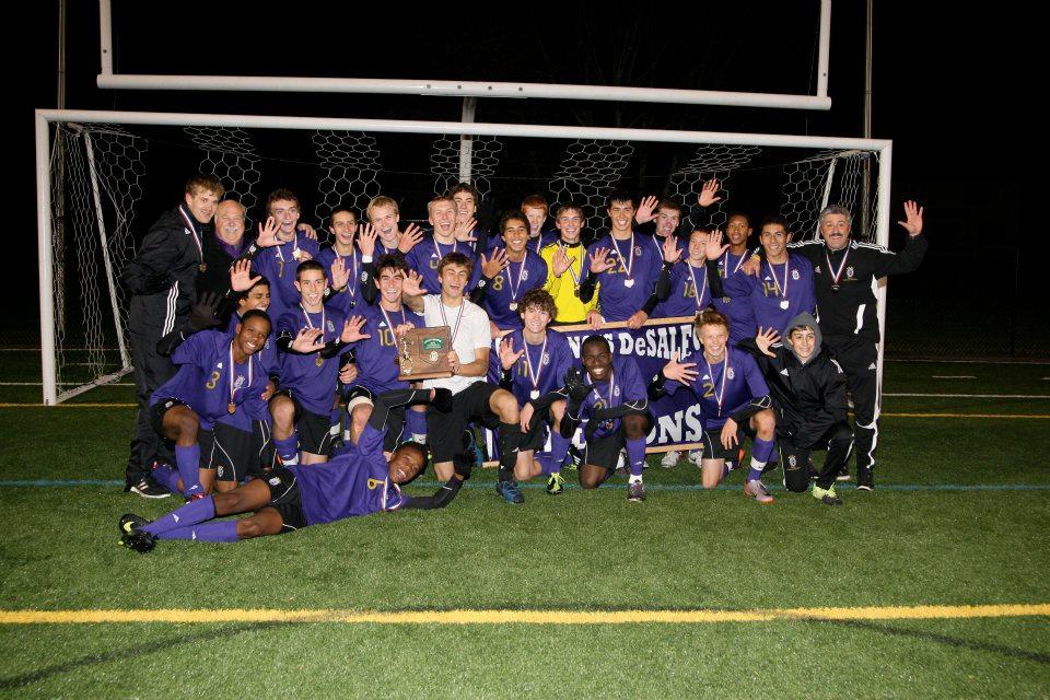 2011 Boys Soccer  (photo credit - Barb Dougherty)