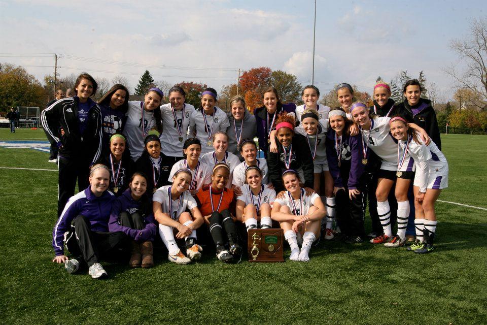 2011 Girls Soccer  (photo credit - Barb Dougherty)