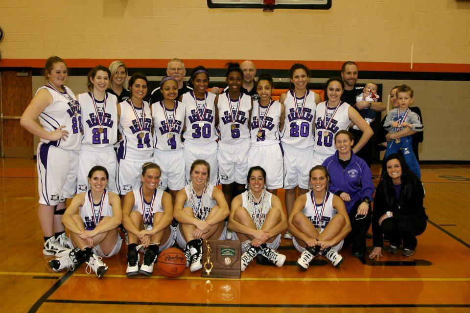 2012 Girls Basketball  (photo credit - Barb Dougherty)
