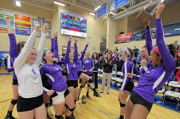 2013 Girls Volleyball  (photo credit - Dan Trittschuh / This Week Sports)