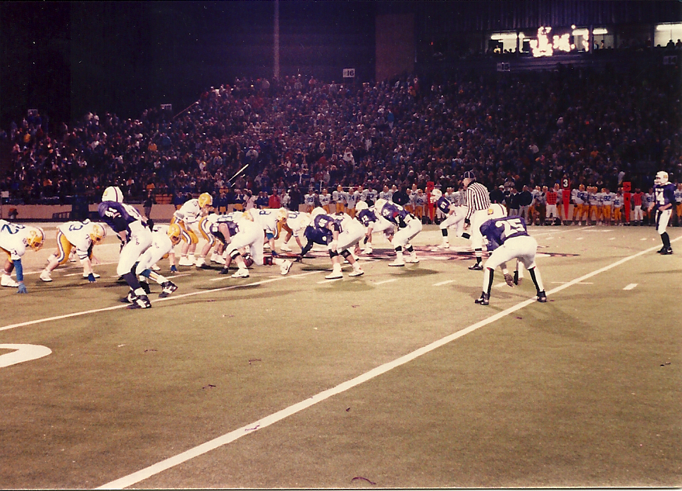 1990 State Championship Game vs. St. Marys Memorial