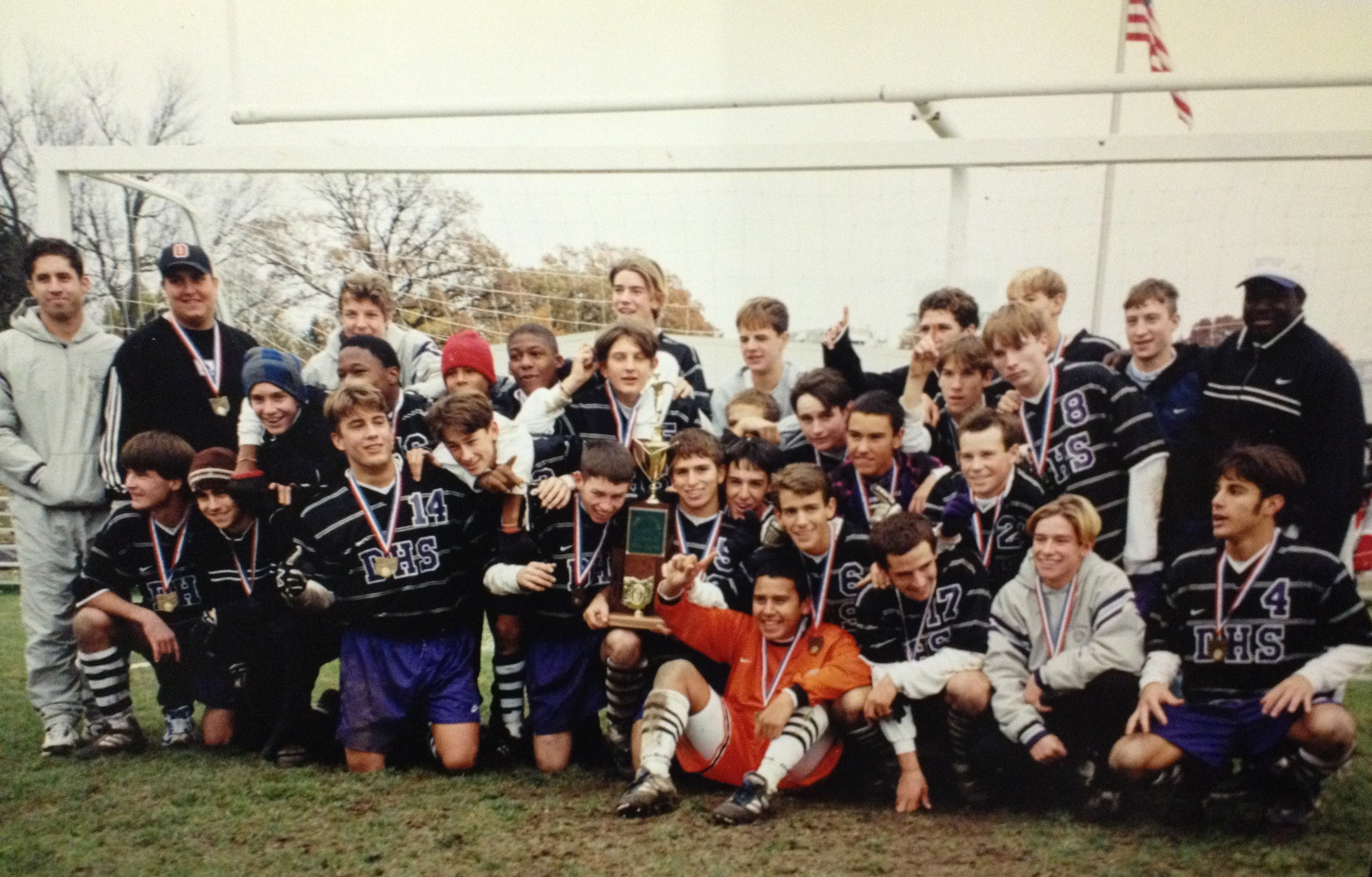 1997 STATE CHAMPIONS  Boys Soccer
