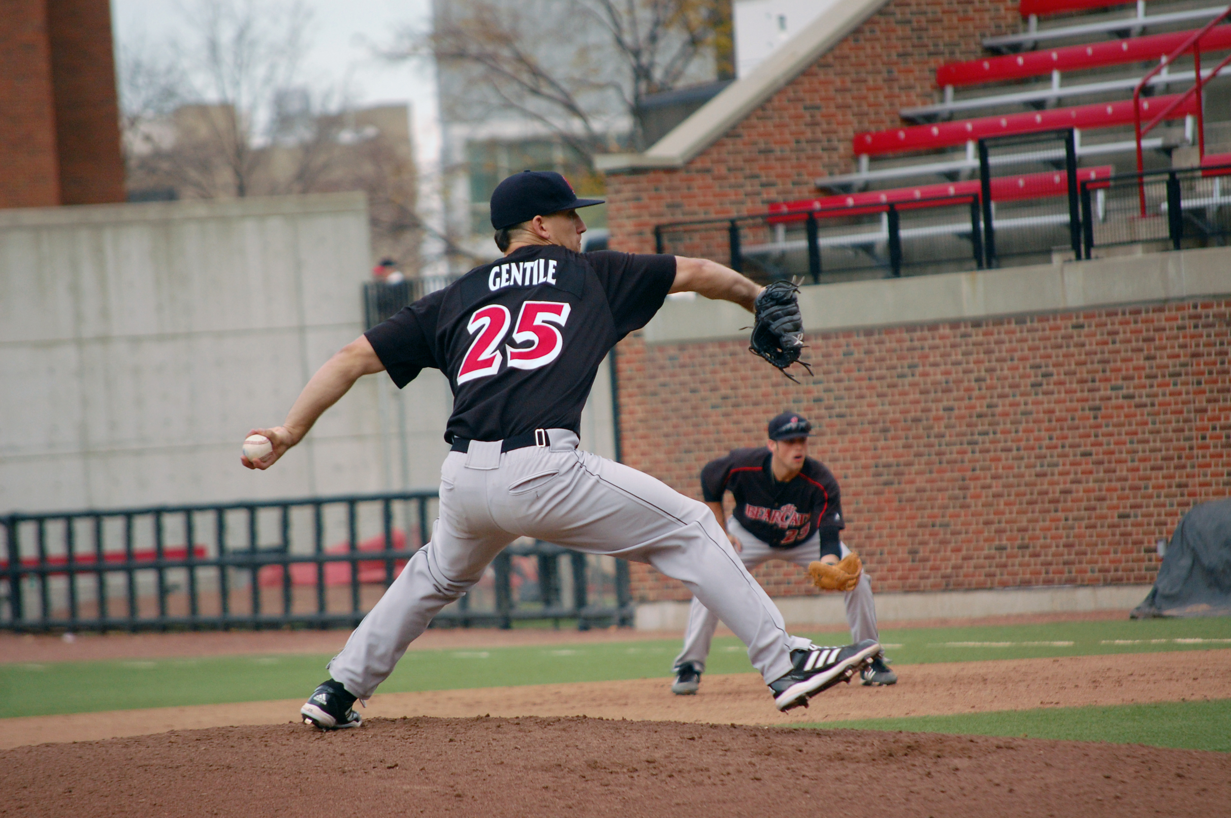 Thomas Gentile '09 University of Cincinnati (photo credit - Cincinnati Athletics)