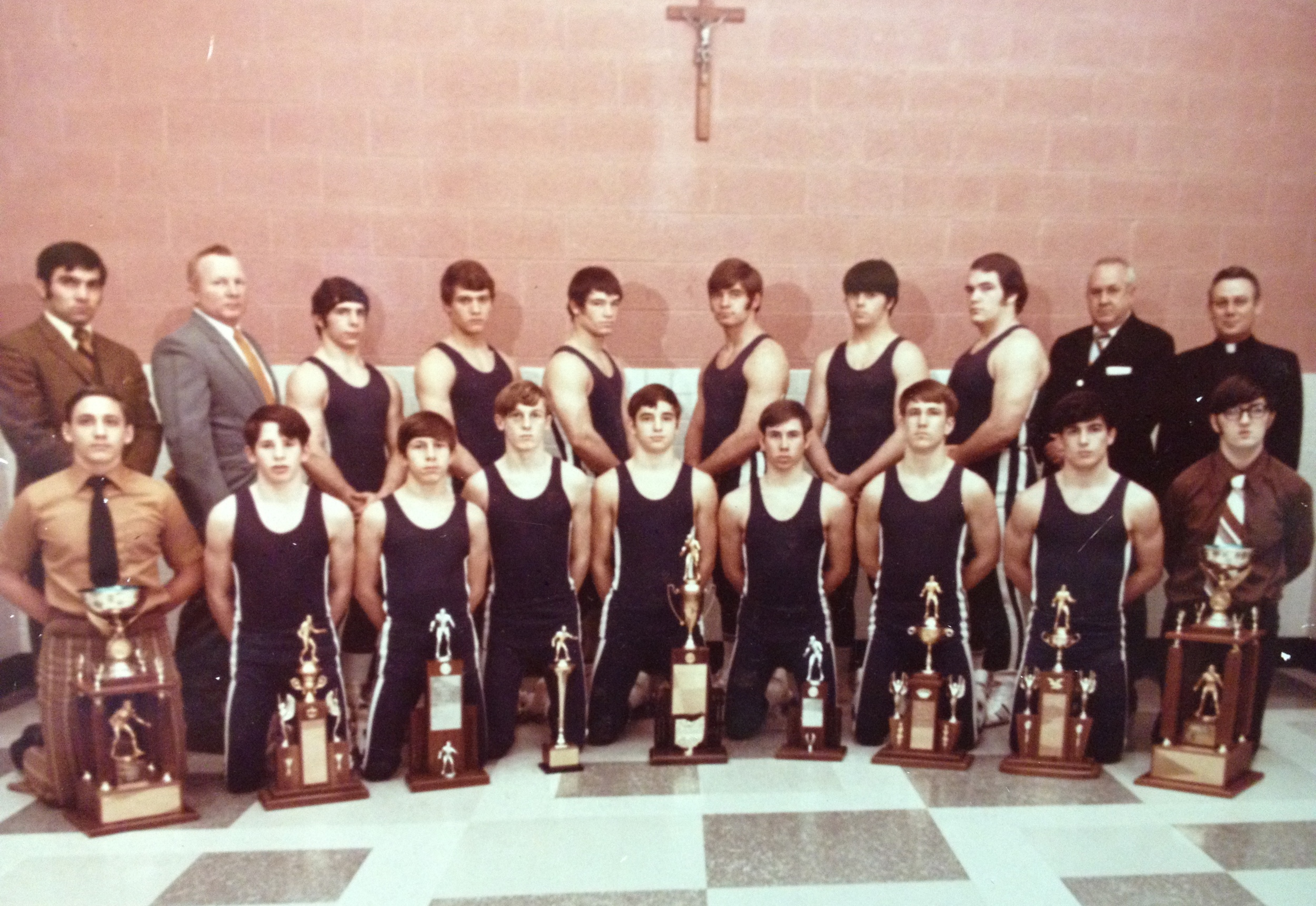 1971 STATE CHAMPIONS  Wrestling