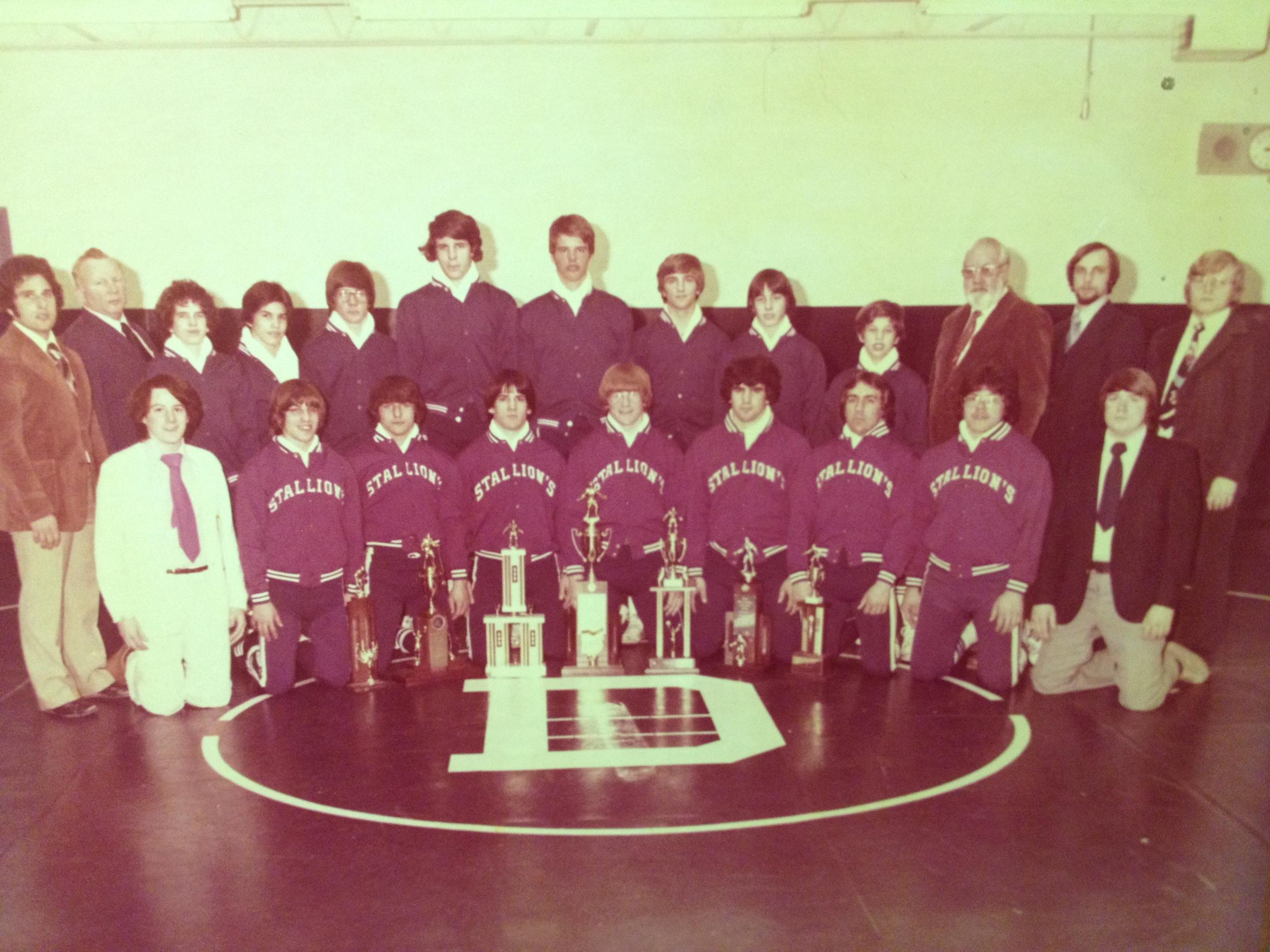 1977 STATE CHAMPIONS  Wrestling