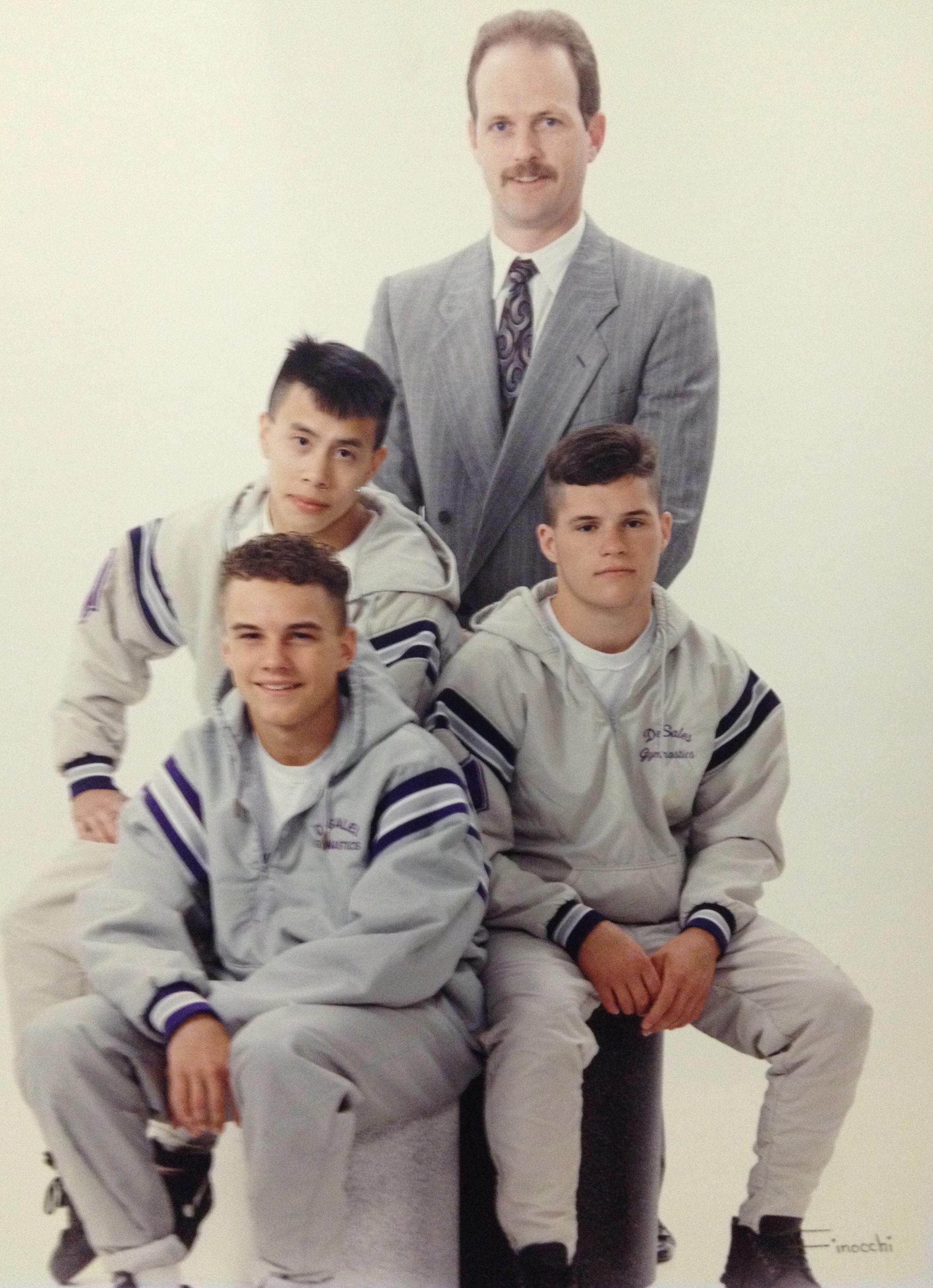 1993 STATE CHAMPIONS  Boys Gymnastics
