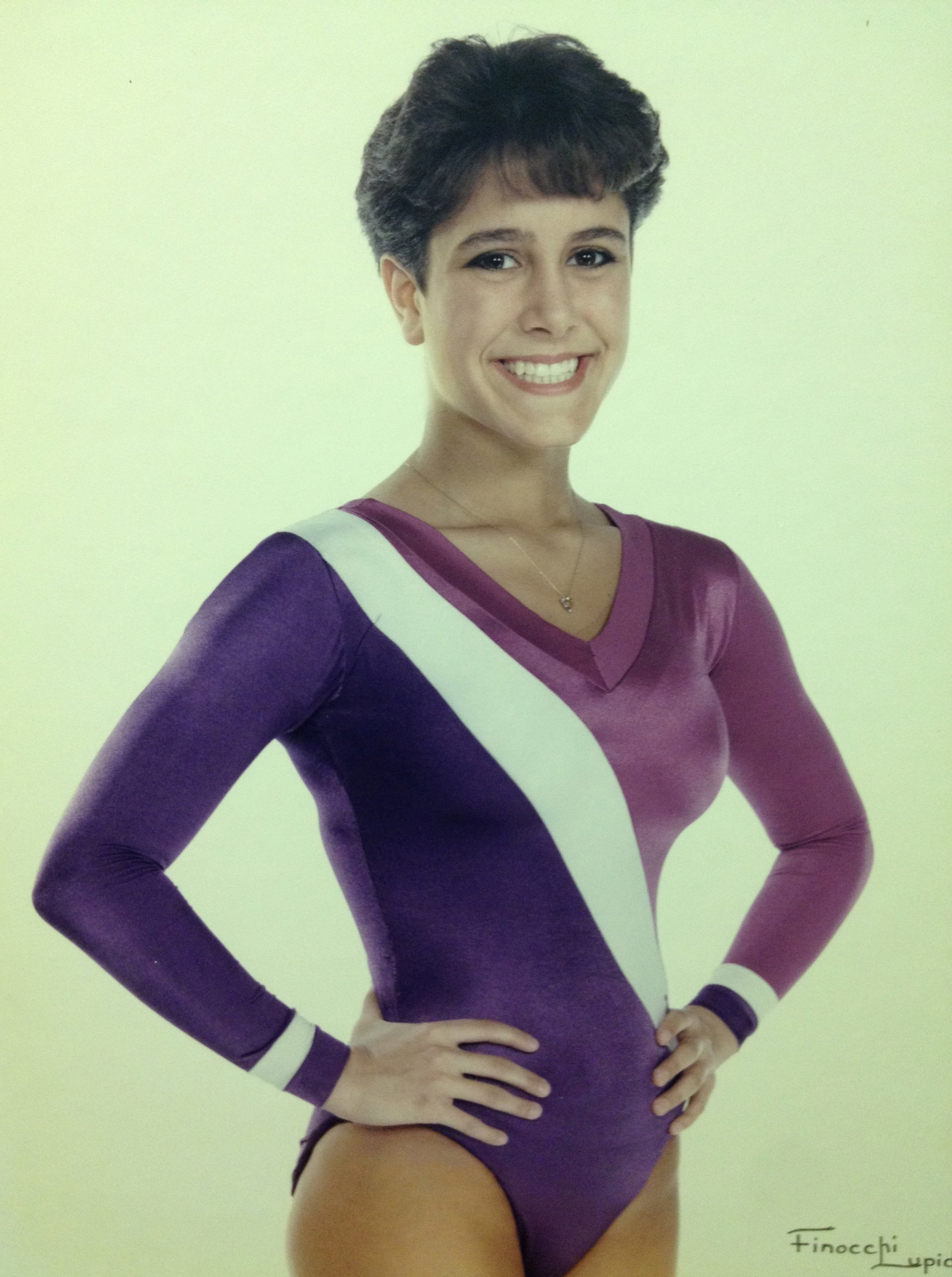 Tricia Biancone 1986, 1987