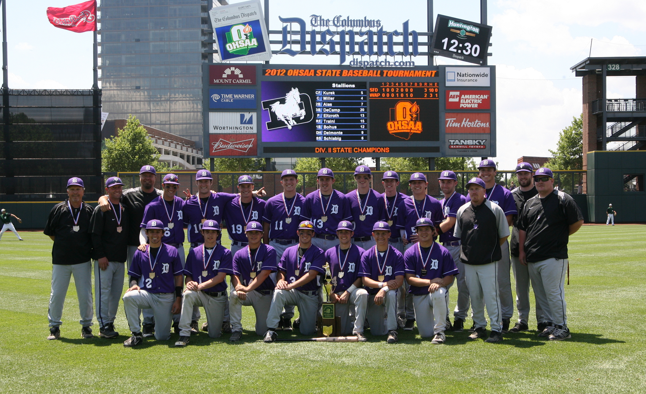 2012 Division-II State Champions
