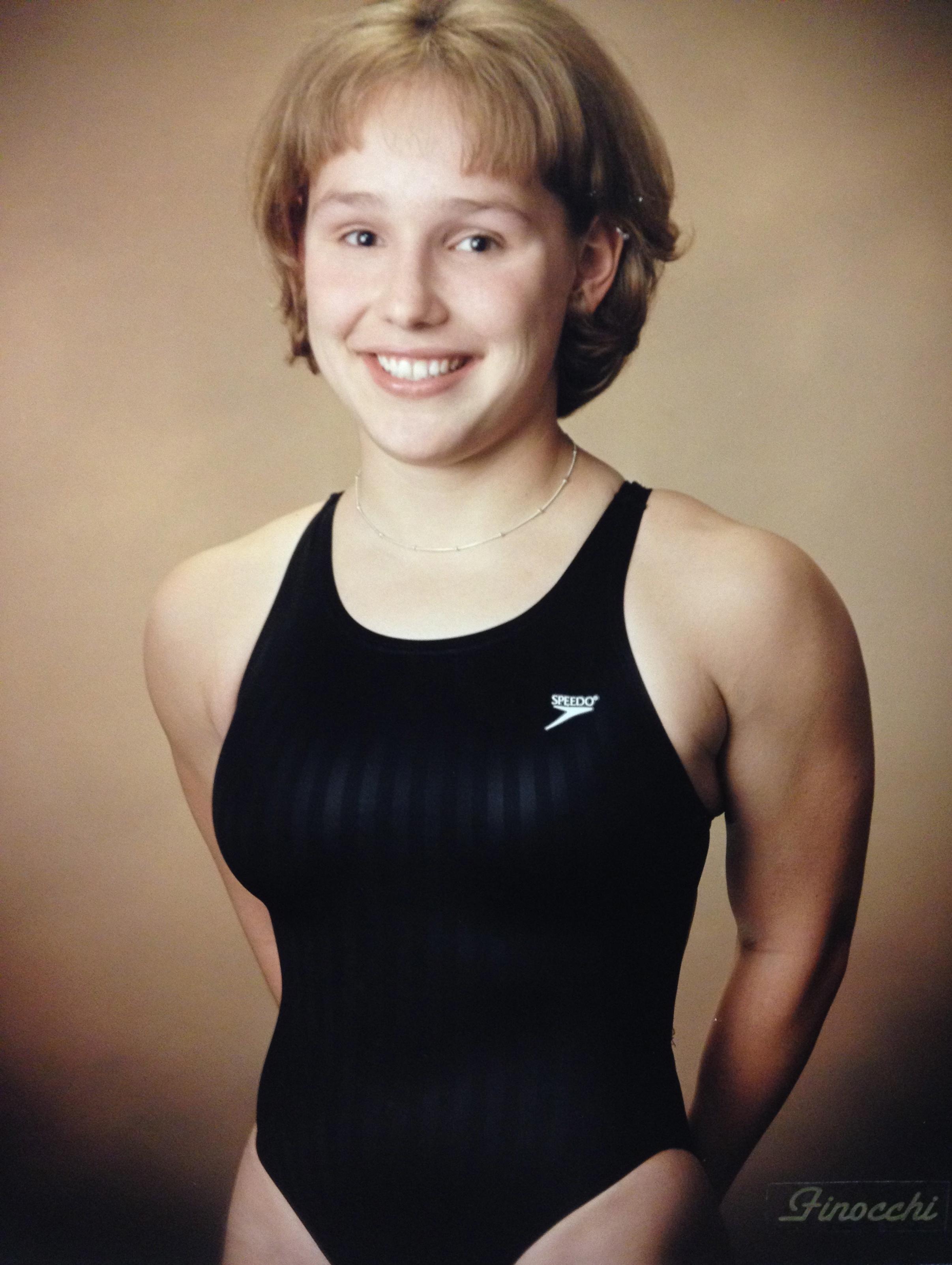 1999, 2000 STATE CHAMPION  Anne Weilbacher, 100-YD Butterfly