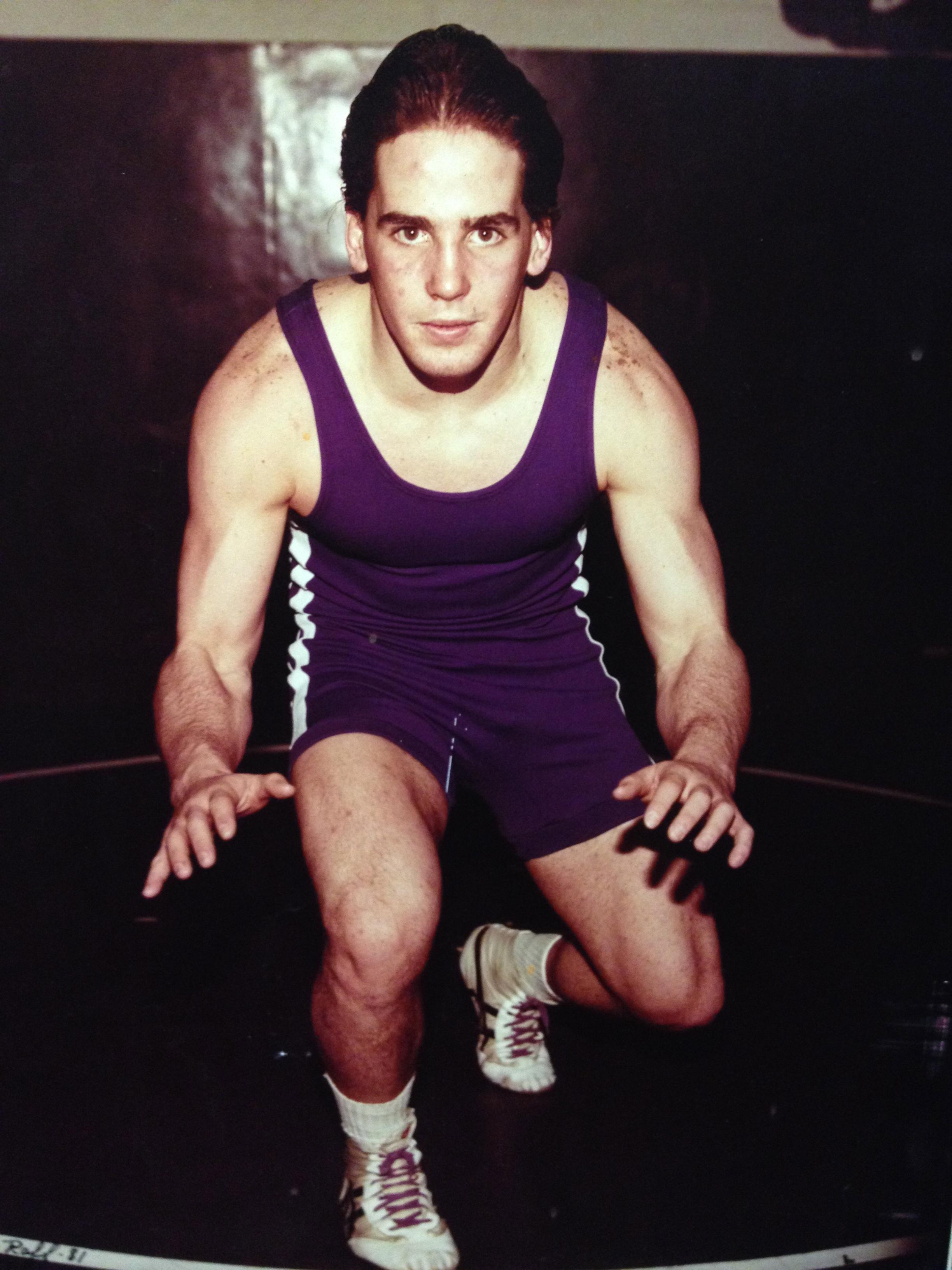 1982 STATE CHAMPION  Vince O'Brien, 185 Pounds