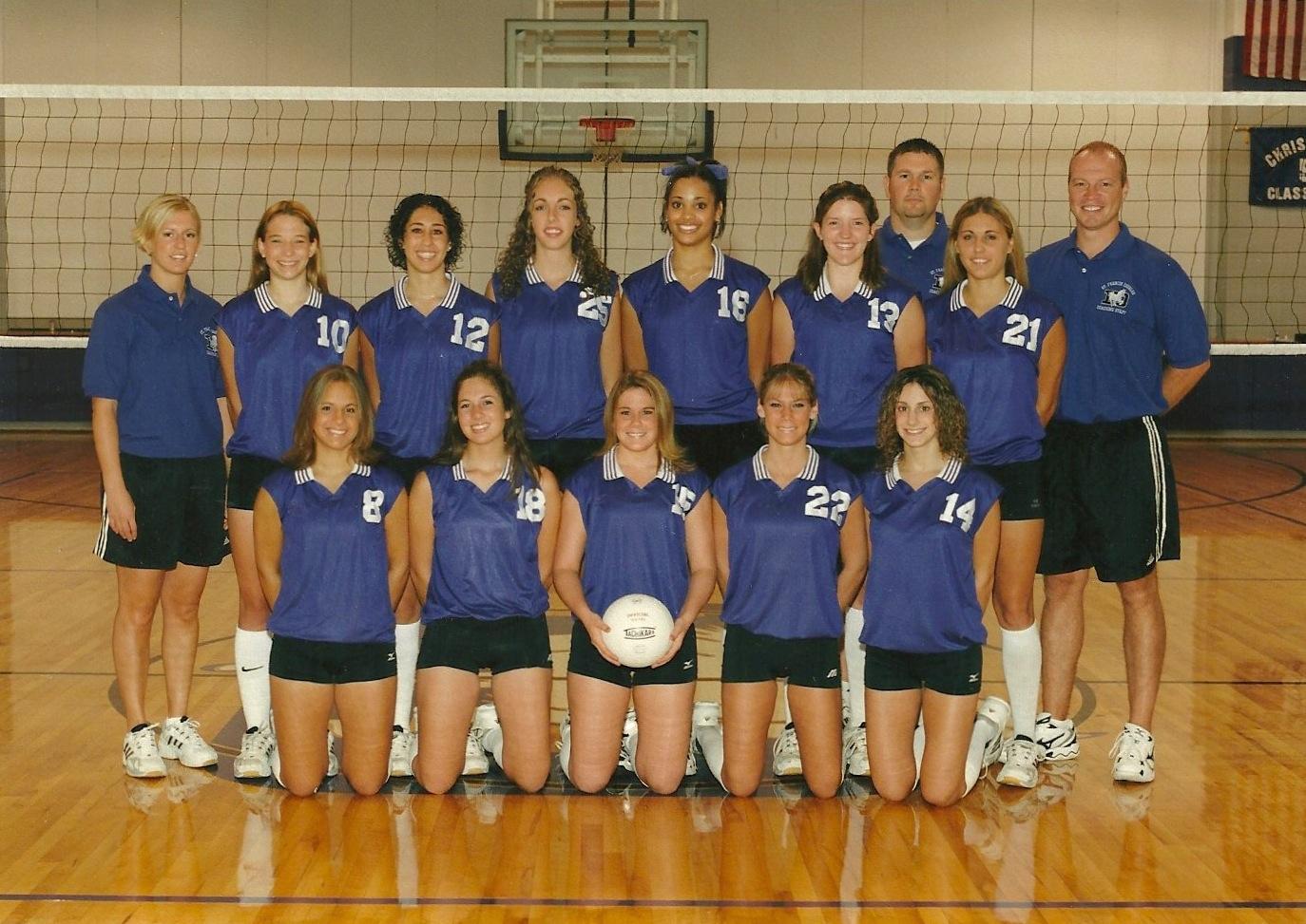 2004 Girls Volleyball