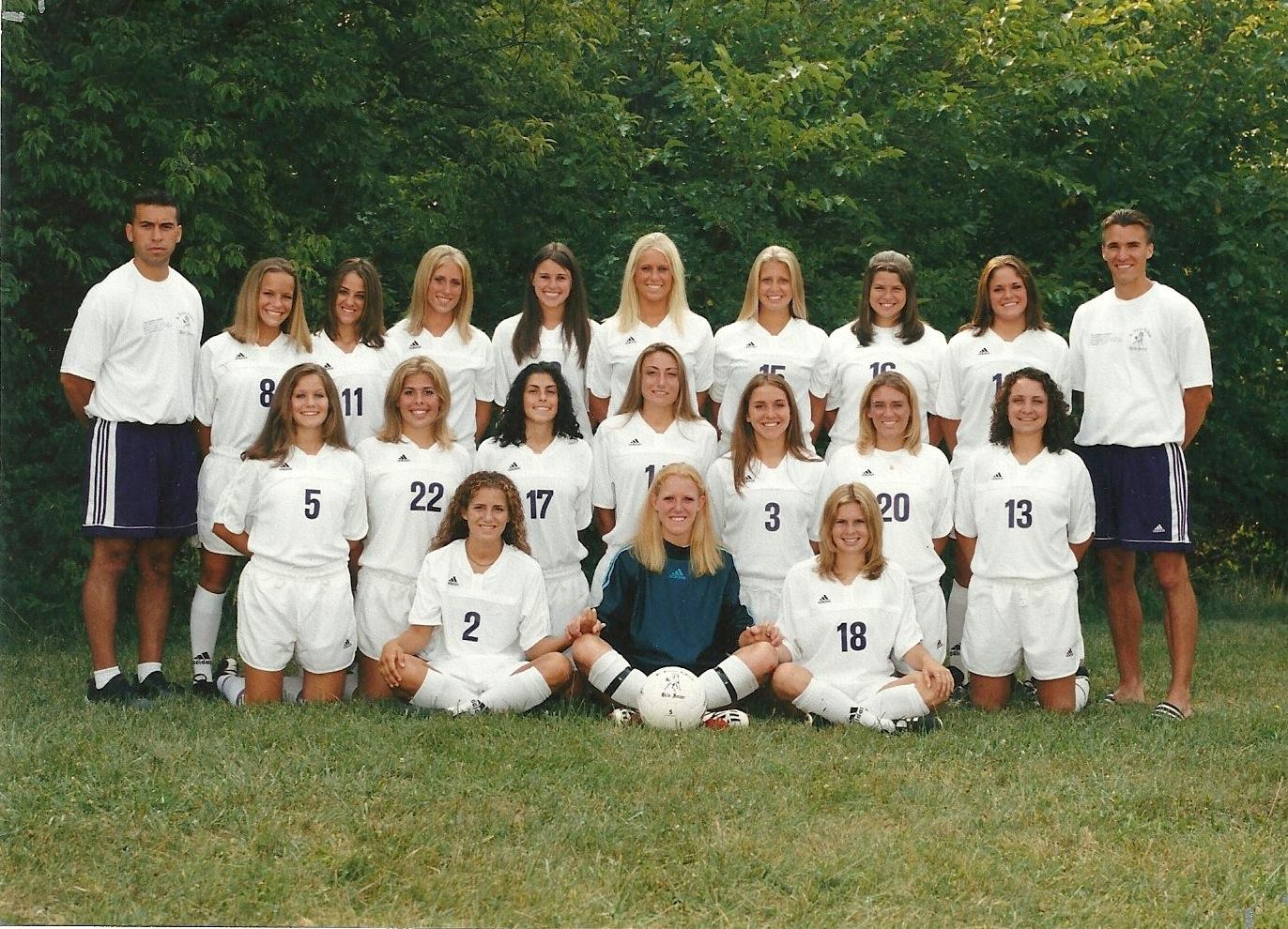 2001 Girls Soccer