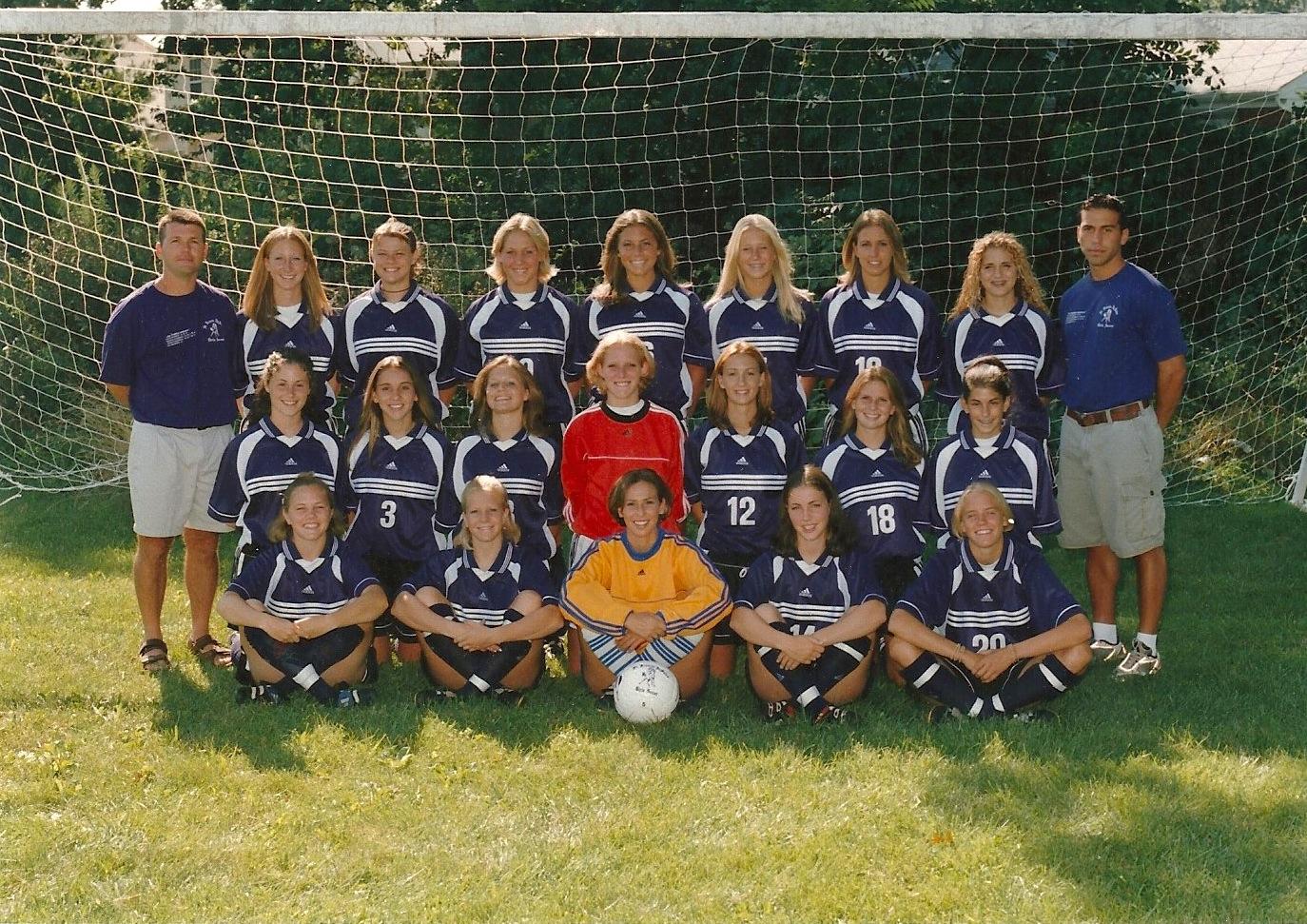 2000 Girls Soccer