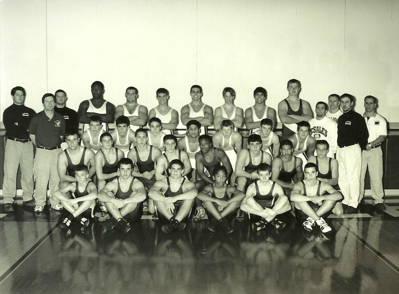 2000 STATE RUNNER-UP  Wrestling