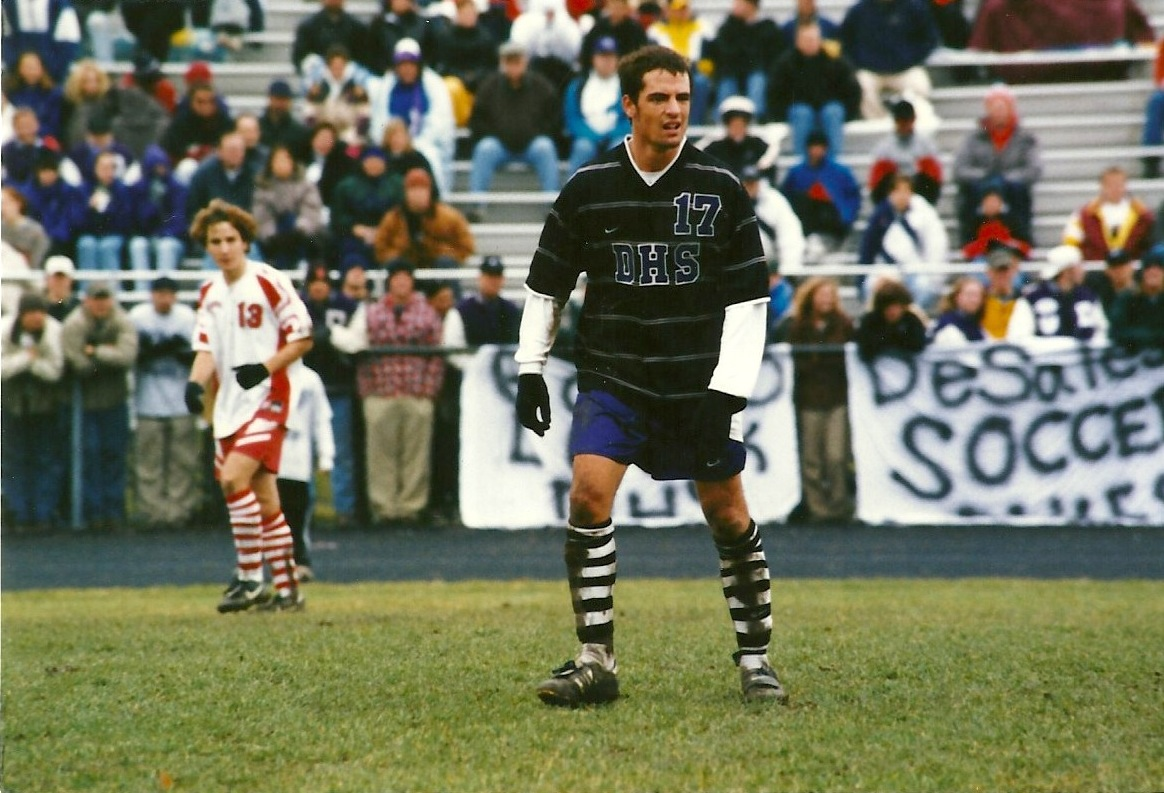 Marc D'Auteuil in the state championship game